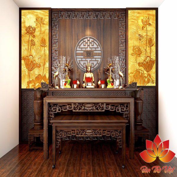 Top 3 mẫu phòng thờ hiện đại đẹp, thiết kế ấn tượng