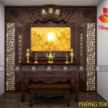 Hướng dẫn bạn cách đặt bàn thờ thần tài hợp phong thủy