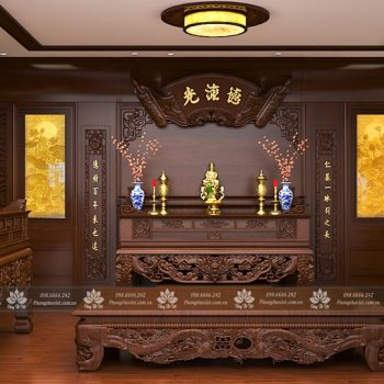 Những điều cần lưu ý khi bày trí bàn thờ chúa trong phòng khách