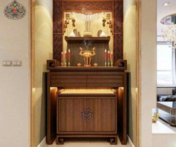 """Nguyên tắc """"Vàng"""" để bố trí phòng thờ gác lửng hợp Phong Thủy"""